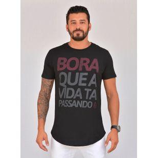 Camiseta Classic Bora Preta 9b5a50b140cac