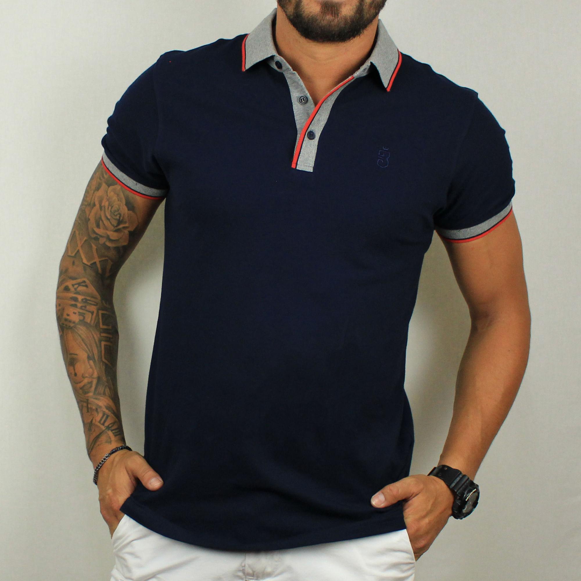 8f35f0004c Camisa Polo Azul 252  Camisa Polo Azul 252. Lista de Desejos. usebora ·  Roupas · Camisetas