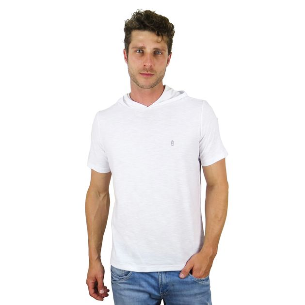 Camiseta Capuz Branco - usebora e497890ec8156