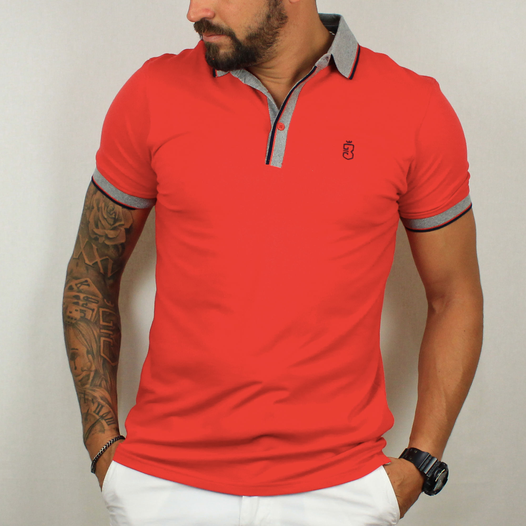 2896e1036 Camisa Polo Vermelha 38  Camisa Polo Vermelha 38. Lista de Desejos. usebora  · Masculino · Pólos