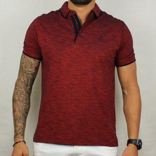 685d126aa3 Camisa Pólo Vinho Mescla